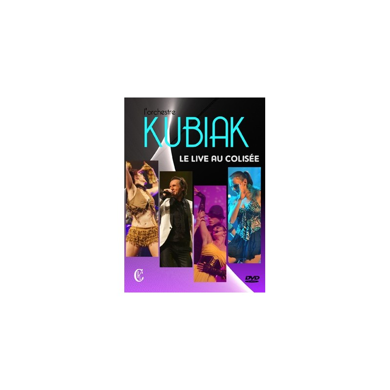 """Christian Kubiak """"Le live au Colisée"""""""